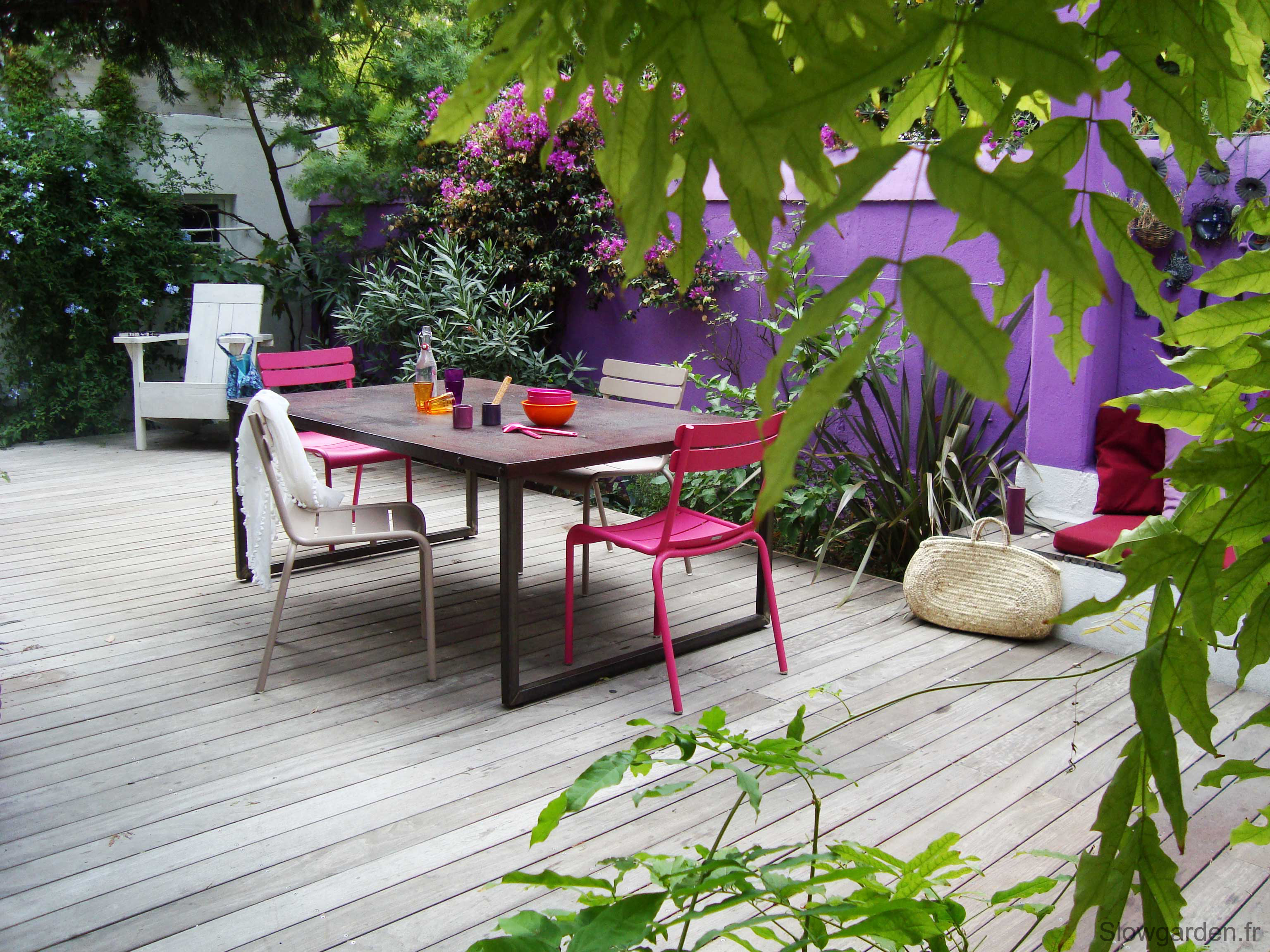 Paysagiste marseille un jardin plus color for Decoration mur de terrasse