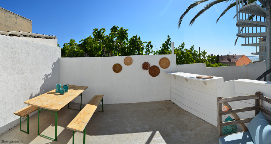 terrasse bois ibiza. Black Bedroom Furniture Sets. Home Design Ideas